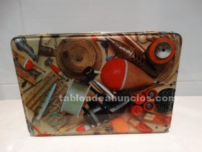 Caja cola cao edición utensilios de pescar