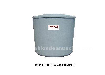 Depósitos agua potable