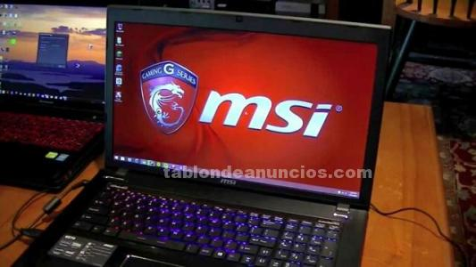 Portatil gaming msi