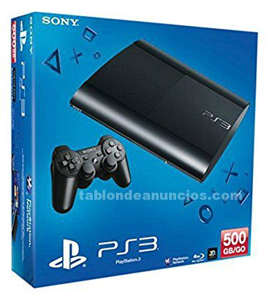 SONY PLAYSTATION PS3 SLIM 500GB