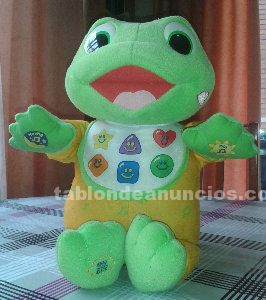Peluche musical educativo. Baby croky