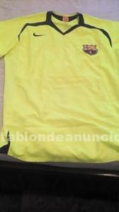 Camiseta fc.barcelona color pistacho