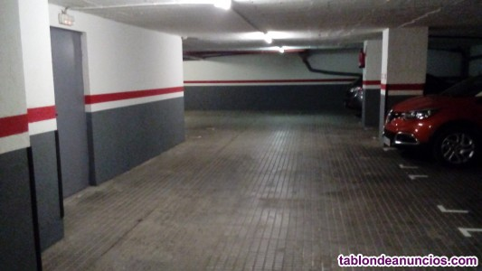 Plaza de parking para coche