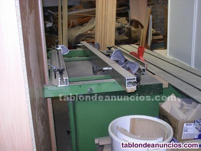 Venta maquinaria carpinteria en perfecto estado