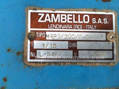 Reductor zambello tipo mrp3/200/p-c-f/7