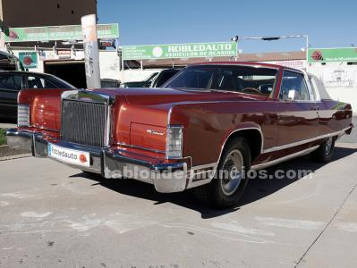 Ford lincoln town coupe