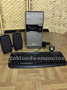 ORD. AMD ATHLON 64 3200. RAM 4 GB.DDR., ALTAVOCES. PERFECTO ESTADO