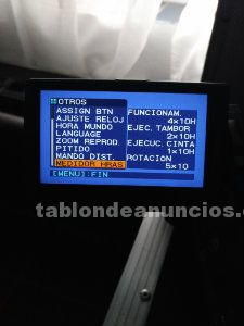 Vendo equipo profesional de video sony