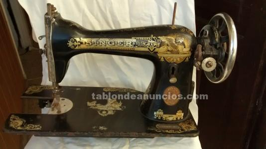 Maquina coser singer+pedal