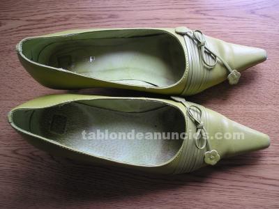 Zapatos verdes talla 37