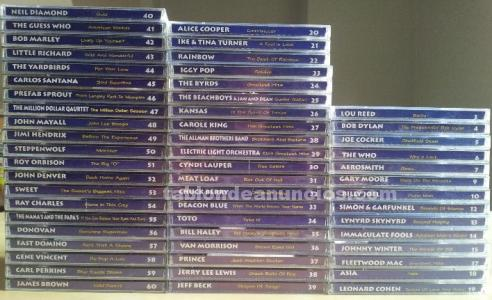 CD,S COLECCION ROCK ALTAYA