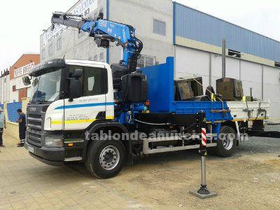 Camion grua scania 230 fassi nueva f315