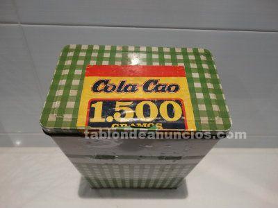 Caja cola cao verde