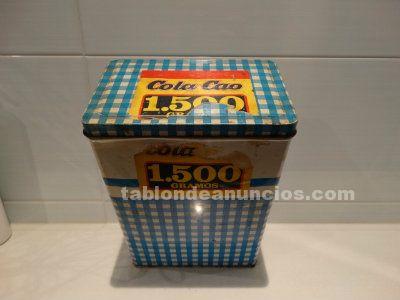 Caja Cola Cao Azul