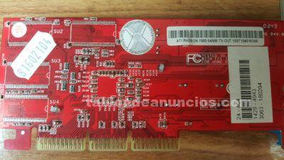 Placa base, microprocesador, tarjetas grafica y memorias