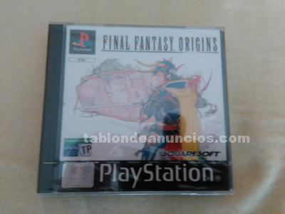 Final fantasy origins playstation 1 psx precintado pal españa