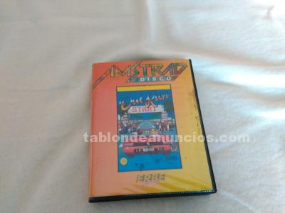 Juego out run amstrad cpc disk sega erbe