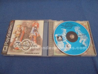 Threads of fate playstation 1 psx ps1 completo ntsc usa/ca