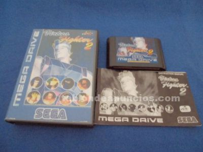 Virtua fighter 2 ii sega megadrive md pal españa completo