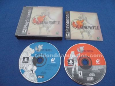 Valkyrie profile vp sony playstation psx ps1 completo ntsc us/ca coleccionistas