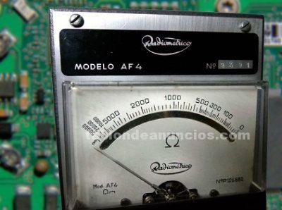 Antiguo ohmetro, radiometrico af4