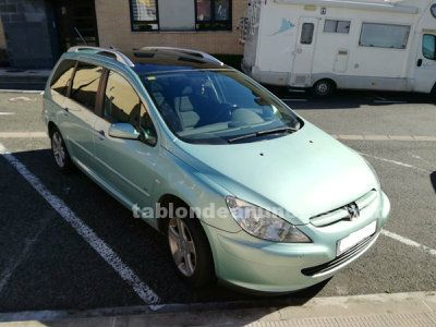 Peugeot 307- 2.0  hdi 136 cv 6 velocidades  sw