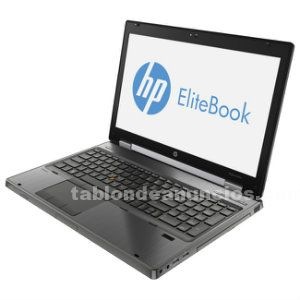 Hp elitebook 8570w i7-3540m @ 3.0ghz 8 gb 320 gb nvidia quadro k1000m 15,6""