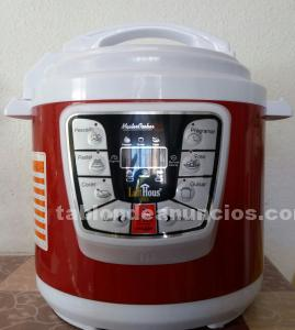 Olla eléctrica programable master cooker red - nueva