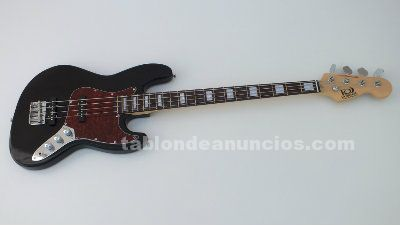 Set de bajo jazz bass kobrat + funda + cable + bandolera