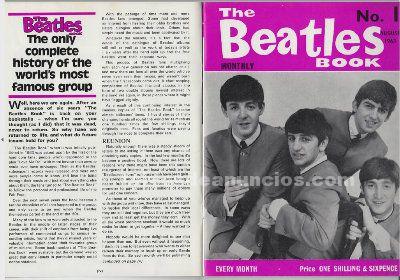 ''The Beatles Monthly Book'' - Colección completa
