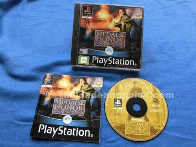 MEDAL OF HONOR UNDERGROUND NO PLATINUM PLAYSTATION PSX PS1 PAL ESPAÑA EA SONY