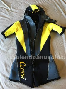 Shorty buceo mujer