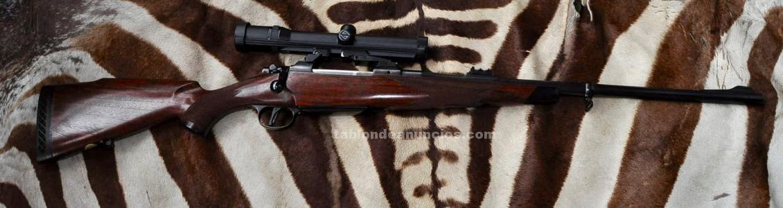 Vendo rifle 375h&h custom