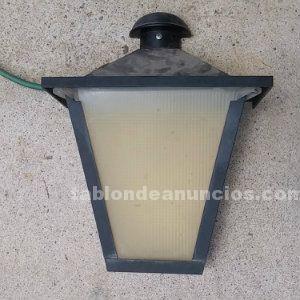 Lámpara exteriores