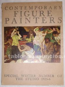 Contemporary figure painters - special winter number of the studio; año 1925-6