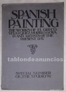 Spanish paintings - special number of the studio 1921