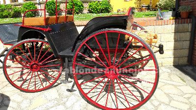 Carruaje 4 ruedas