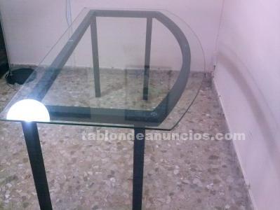 Mesa de cristal para oficina , comedor , salon