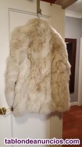 Vendo chaqueton de zorro talla 40 -42 nuevo