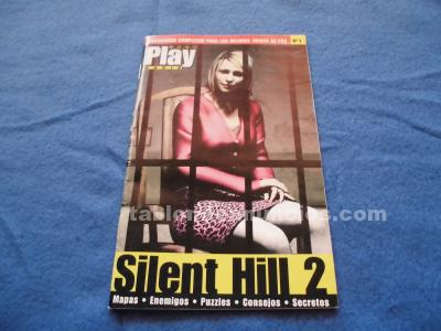 GUIA SILENT HILL 2 PS2 NUMERO 1 PLAY MANIA PLAYSTATION 2 MUY BUEN ESTADO