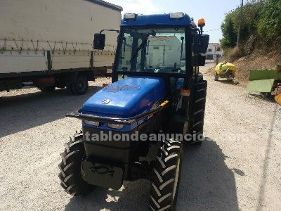 NEW HOLLAND, TRACTOR NEW HOLANN