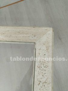 VENDO MESA DE CENTRO TRAVERTINO 100X100