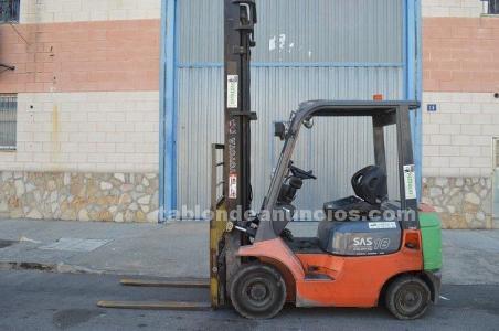 Carretilla toyota mod:02-7fdf 18 diesel
