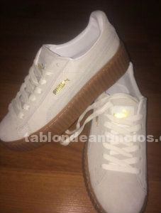 Zapatillas puma creppers by rihanna