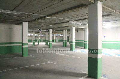 Alquiler plazas vigiladas con CCTV