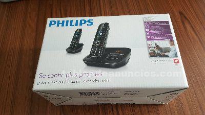 Telefono inalambrico philips con pantalla grande y a color