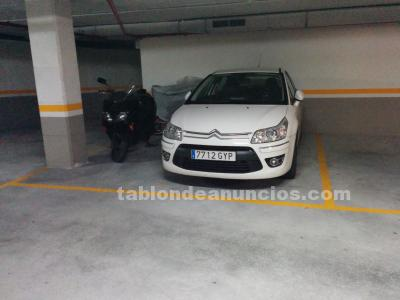 Vendo parking grande y trastero