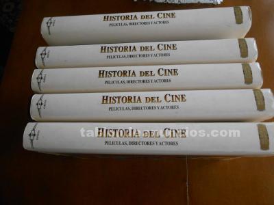 Historia del cine (cinco tomos)