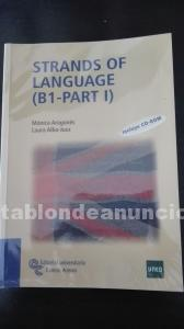 "Libro uned  "" strands of language"" b1-part i"