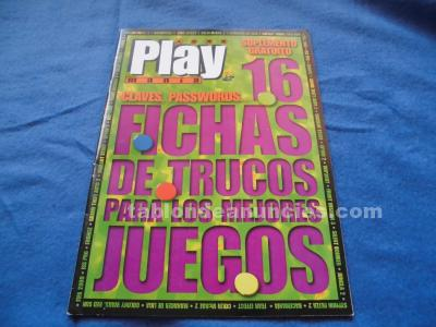 16 FICHAS DE TRUCOS PS1 PLAY MANIA SYPHON FILTER 2,FEAR EFFECT,VAGRANT STORY PSX